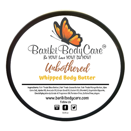 Unbothered Whipped Body Butter - 8.5 FL OZ