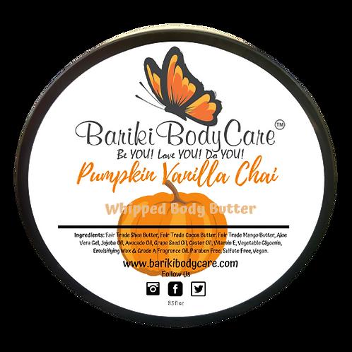 Pumpkin Vanilla Chai  Whipped Body Butter - 8 FL OZ