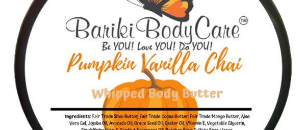 Pumpkin Vanilla Chai  Whipped Body Butter - 8 FL OZ