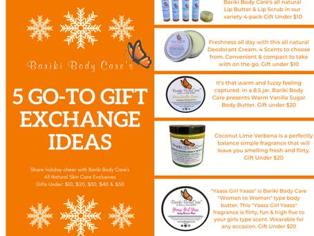 5 GO-TO Gift Exchange Ideas