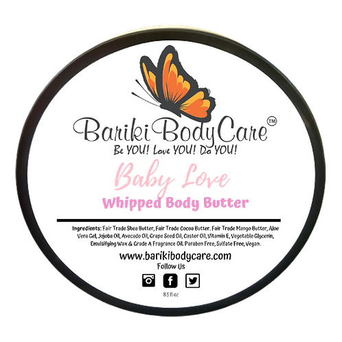 Baby Love Whipped Body Butter - 8.5 FL OZ