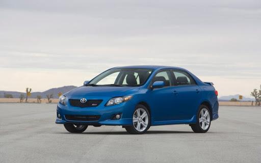 Toyota Corolla blue