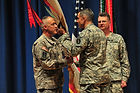 """Colonell Thomas Palmatier assuming command of The United States Army Band """"Pershing's Own"""""""