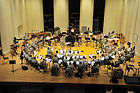"""Thomas Palmatier recording session with The United States Army Band """"Pershing's Own"""""""