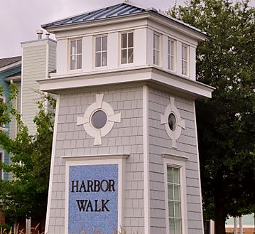 Harbor Walk Entrance