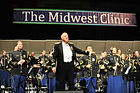 Thomas Palmatier conducting at the Midwest International Band and Orchestra Clinic