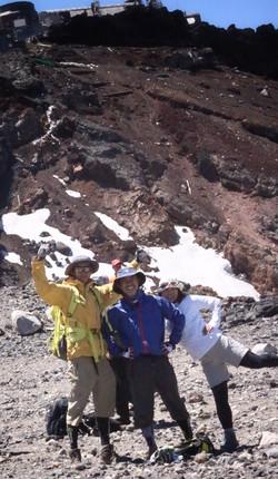 富士登山 山頂