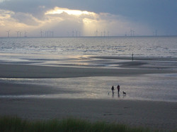87 - Dusk at Formby Beach by Andy Bold