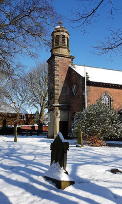 02C;Mike Coleman;St Peters in the snow