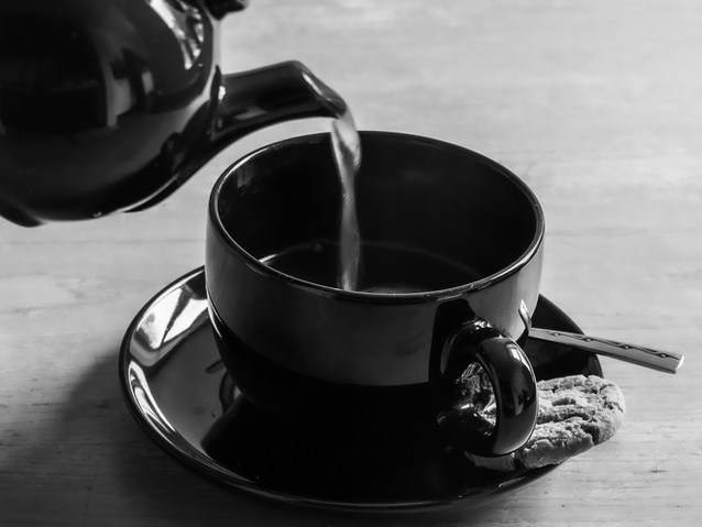 Commended Mono -Christine Reynolds;A nice cup of tea.