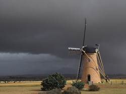 01C; John Houston; Approaching storm