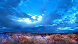 DPI 1st Sky Over Dunes in Infra Red