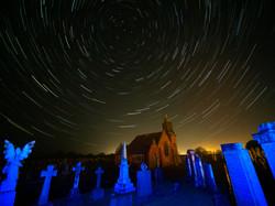 154 - Cemetery Star Trail By Steve Birchall