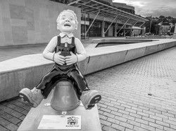 Oor Wullie at the Scottish Parliament