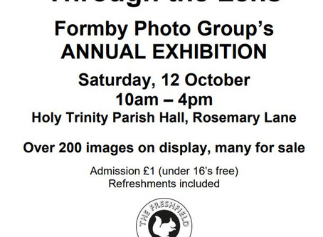 The Annual Exhibition is this Saturday
