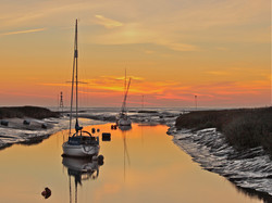 COL 01 Estuary Sunset, Mike Mothershaw