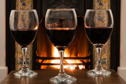 191 - Wine by the fire  By Christine Reynolds