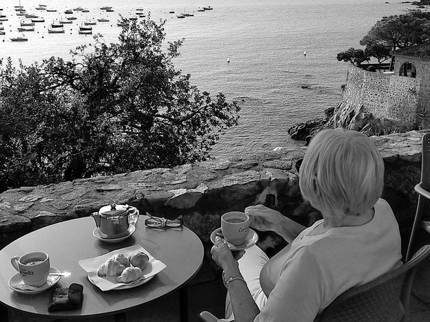 Mono Highly Commended - SteveBirchall; Tea with a View