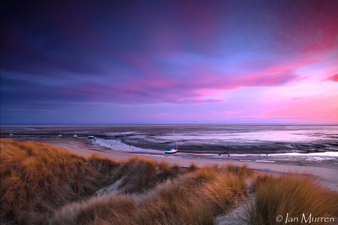 COL C Dunes and Masts at sunset, Ian Murren