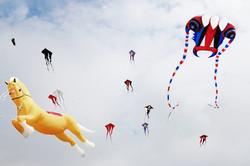 123 - Kite Flying at Crosby By John Crooks