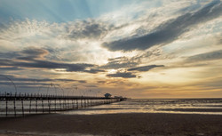 135 - Southport at Sunset  By Dave Reed