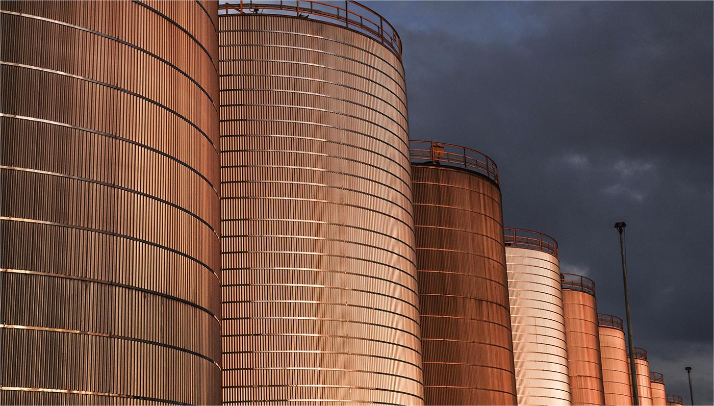 COL C Seaforth -Corrugated Storage, Ian Kemp