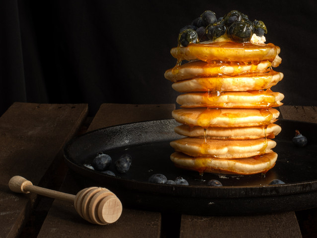Colour Highly commended; Anita Abdous; Pancakes