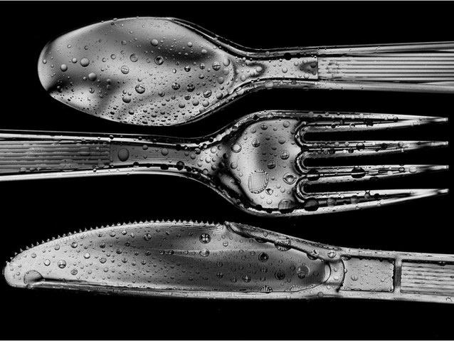 1st Mono;LaurieLissett;Knife,Fork and Spoon.