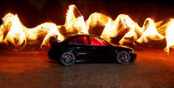162 - Fire car By Amanda Scott-Norton