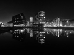 Wendy Graham - Canning Dock by night
