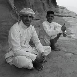 64- Guides in Wadi Rum Jordan  By Steph Williamson