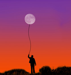 01;Mike Coleman;The Moon is a Balloon
