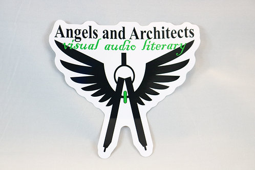 Logo Sticker with text
