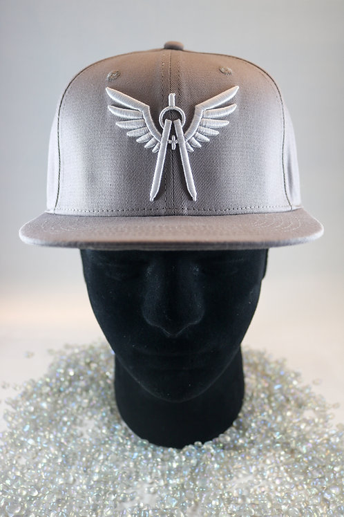 Angels and Architects FLAT BILL cap - GREY