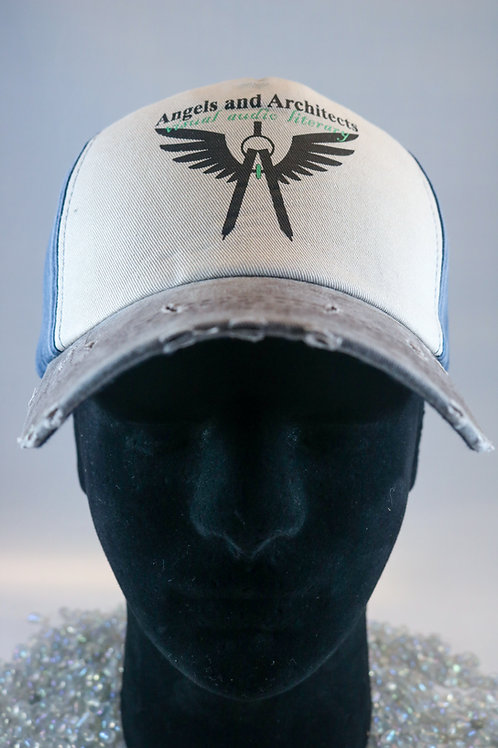 Angels and Architects VINTAGE Distressed Ballcap