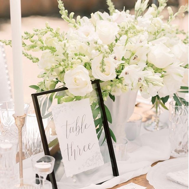 Lush Greenery and Ivory hues