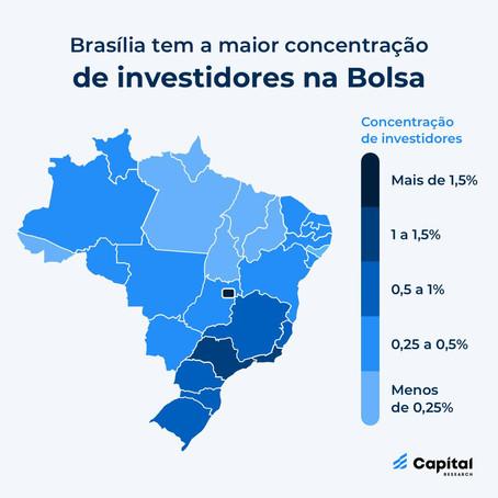 Brasília, a cidade que ganha muito e investe muito