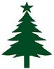 Christbaum auch lebender Christbaum. Verkauf von lebenden Weihnachtsbäumen