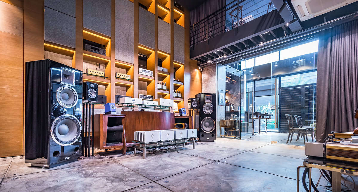 The Museum, Audio Showroom, TC Green2, Rama9 Road. Hi-End Audio Showroom, Mark Levinson, Daniel Hertz, Studio47 design