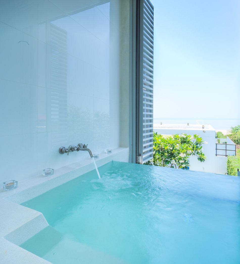 vacation home, Bangchong Lagoon, Beach House, Studio47 design