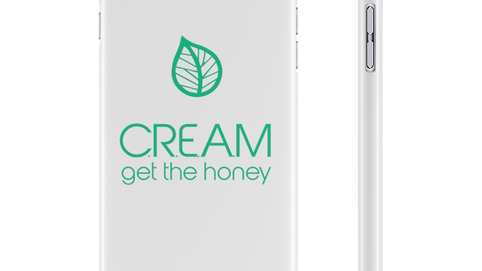 C.R.E.A.M. get the honey Phone case