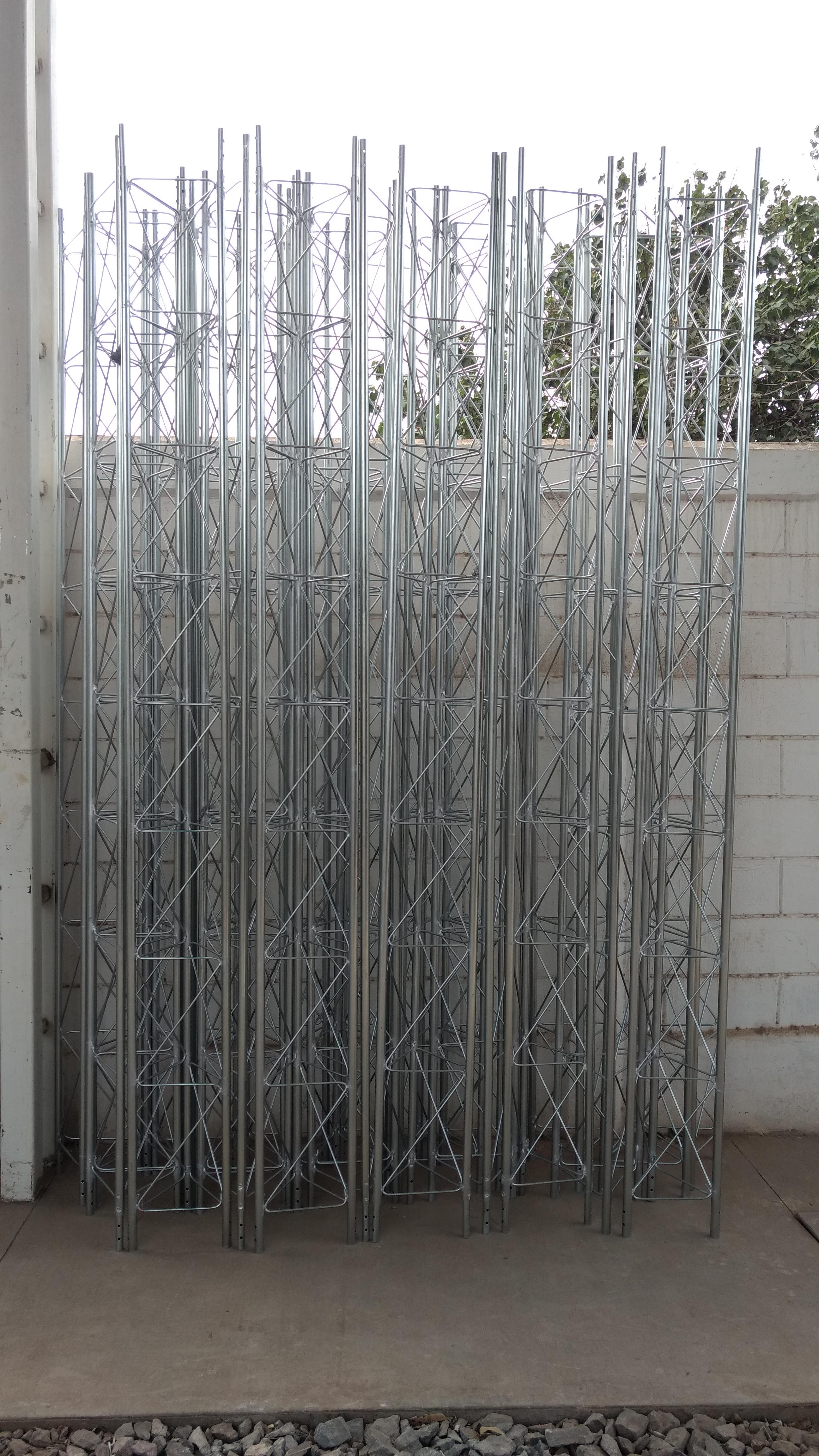 antenas galvanizadas