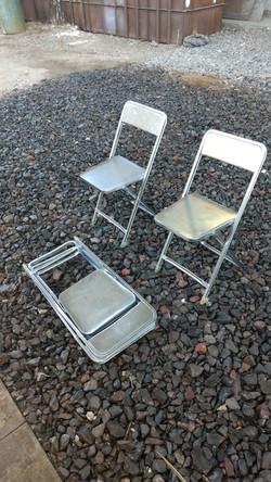 sillas galvanizadas