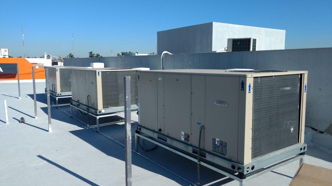 bases refrigeracion galvanizadas