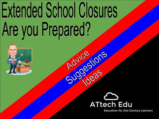 UK School Closures - Are you prepared? Advice, Suggestions and Ideas on how to get prepared.