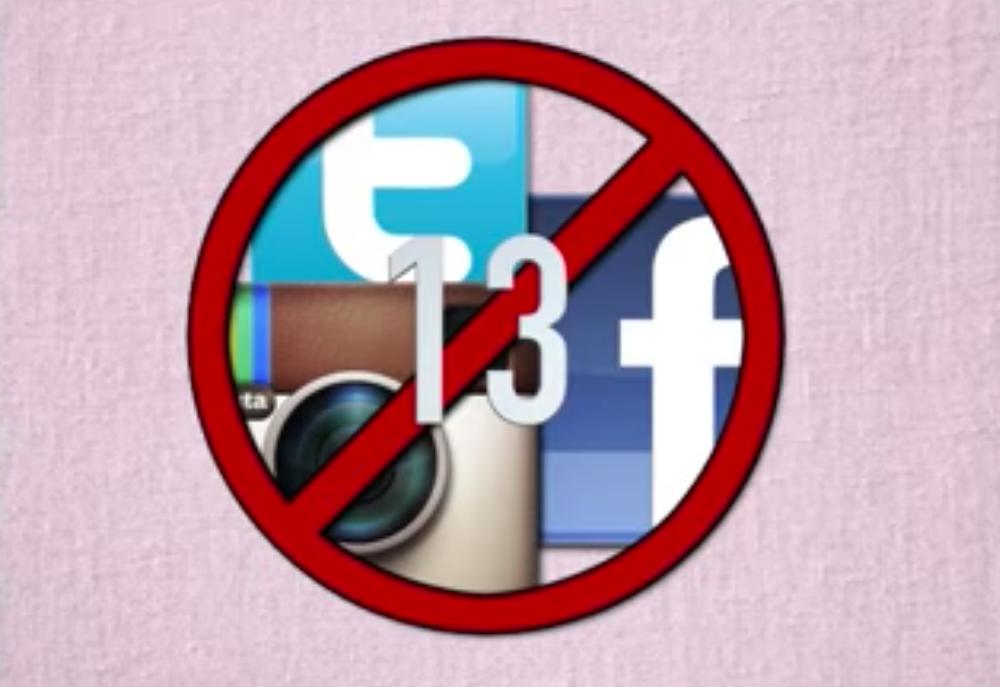 Under age social media