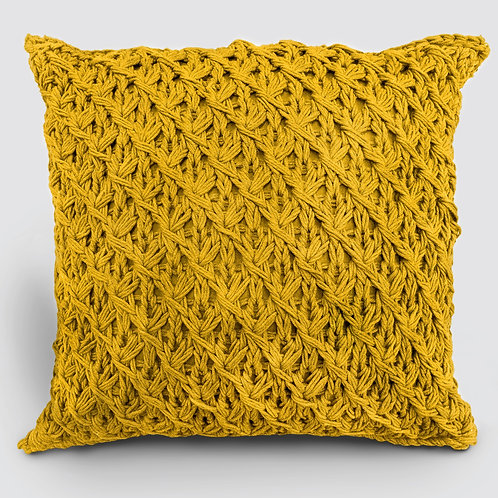 Crocheted Throw Pillow
