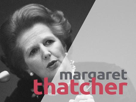 """MARGARET THATCHER - """"Cura i pensieri, diventeranno parole"""""""