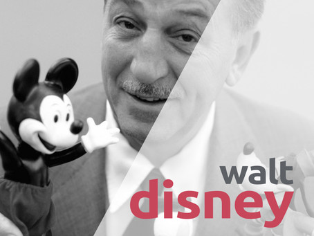 "WALT DISNEY - ""È quasi divertente fare l'impossibile"""