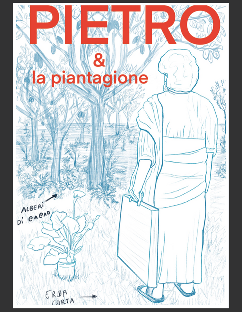 book cover sketch